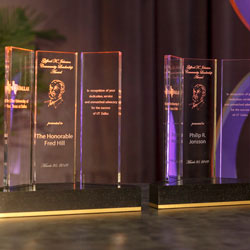 University Celebrates Distinguished Alumni, Supporters at Awards Gala