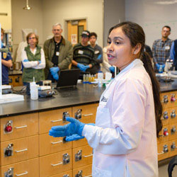 Researchers Showcase Labs, Latest Advancements at Science in the City