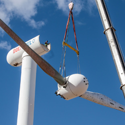 Mechanical Engineer Helps Propel Progress of Giant Wind Turbine