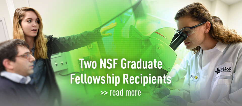 Jonsson School Students Earn National Graduate Research Fellowships