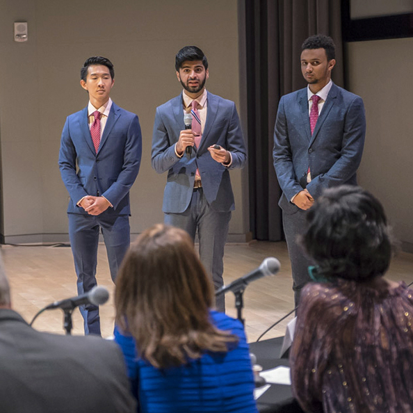 Students Shine at Startup Competition