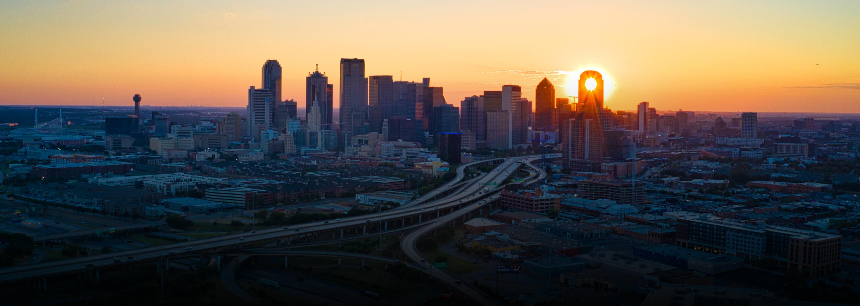 Dallas Skyline Top Banner