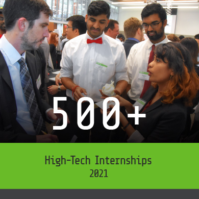 More than 1500 High Tech Internships